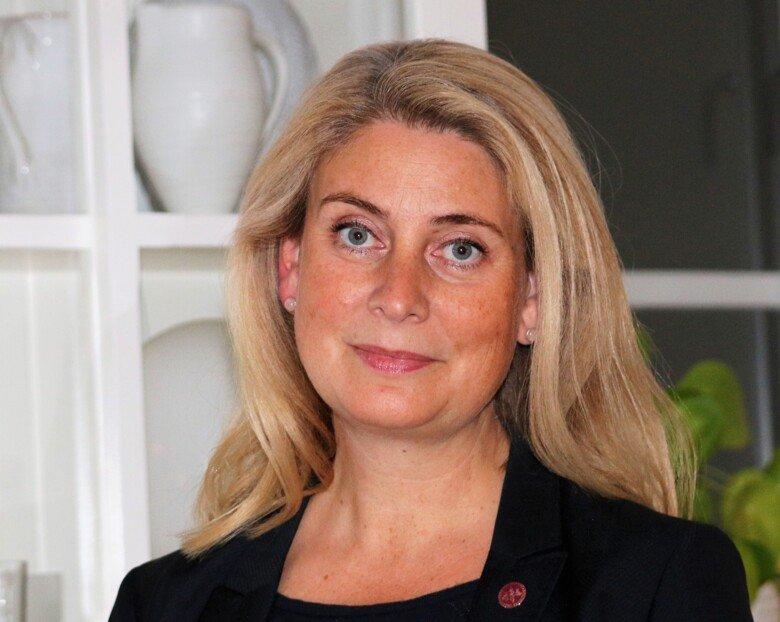 Photo of Anna Smed Sörensen.
