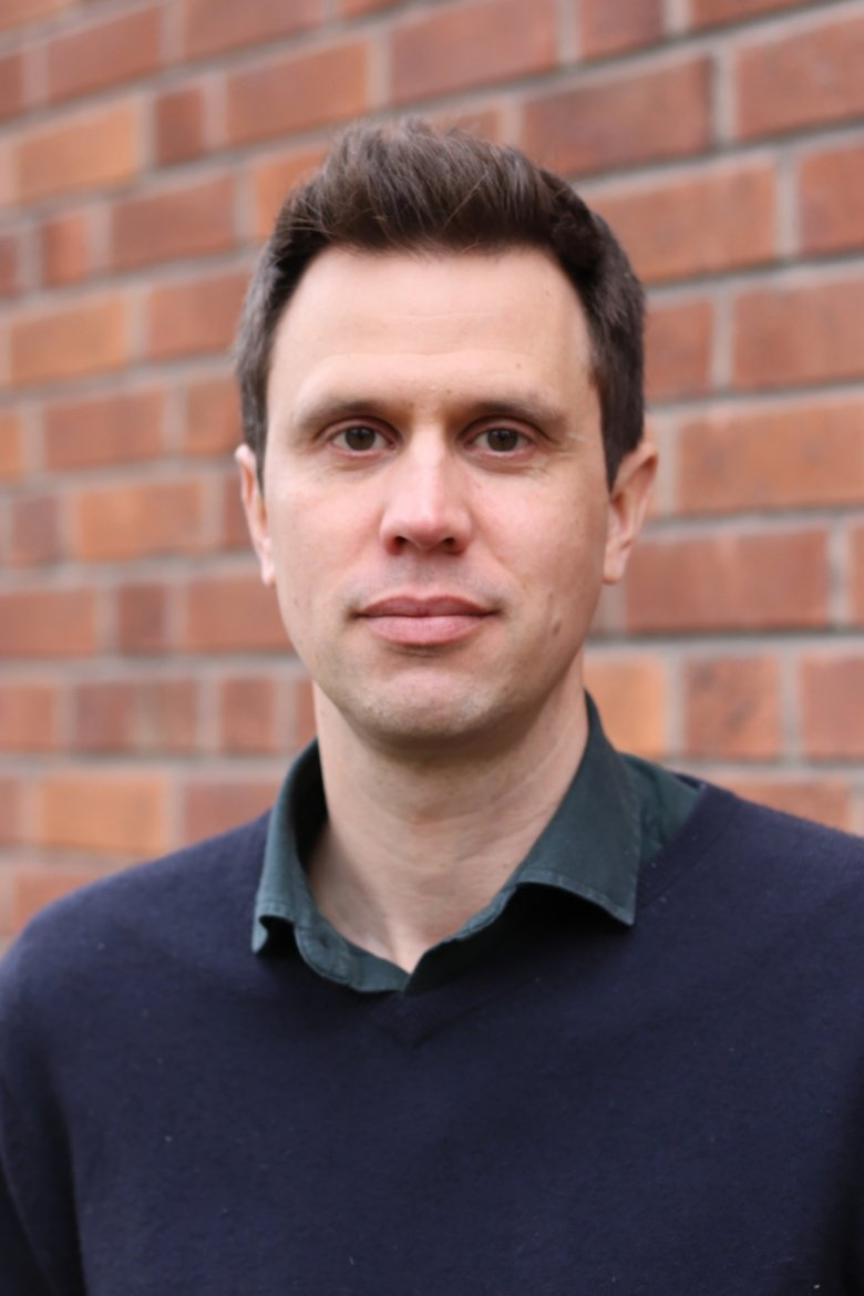 Portrait photo of researcher Erik Pettersson. Photo: Gunilla Sonnebring