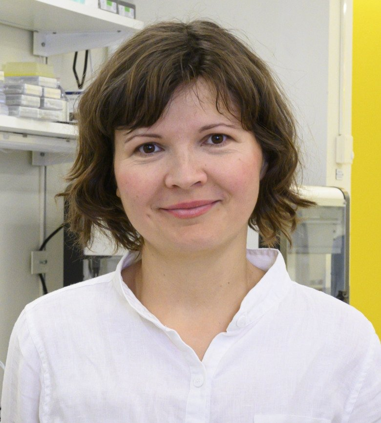 Magda Bienko, senior researcher at the Department of Medical Biochemistry and Biophysics