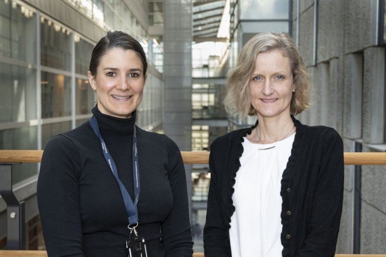 Virginia Stone and Malin Flodström Tullberg