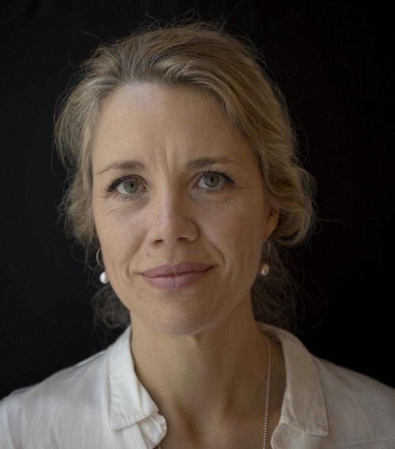 Portrait photo of Mia Ahlberg, midwife at Theme Women's Health, Pregnancy and Childbirth, Karolinska University Hospital, and researcher at the Department of Medicine, Karolinska Institutet (Solna).