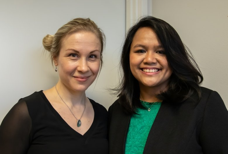 Richelle Duque Björvang and Pauliina Damdimopoulou.