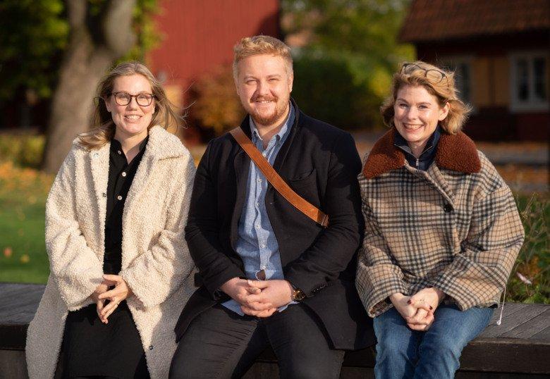Researchers Rita Bergqvist, Viktor Ahlqvist and Cecilia Magnusson.