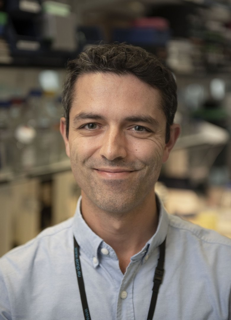 Portrait photo of Vasco Sousa, researcher at the Department of Clinical Neuroscience
