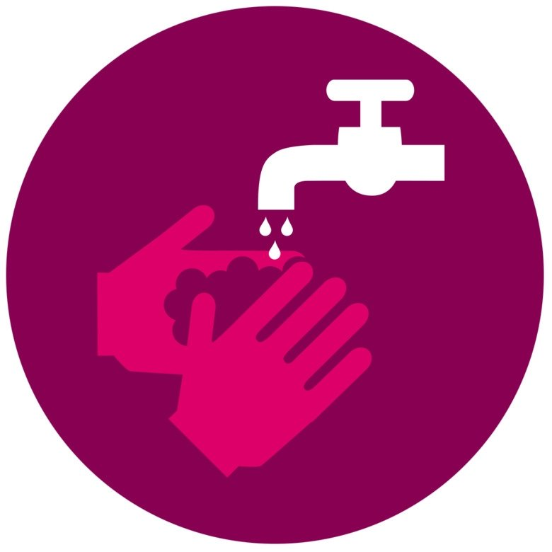 Icon of hands washing