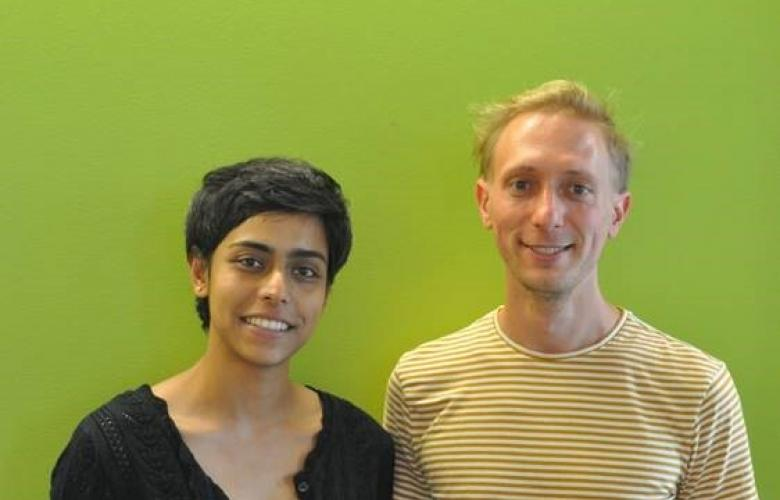 Portrait of the authors Banushree Kumar and Simon Elsässer.